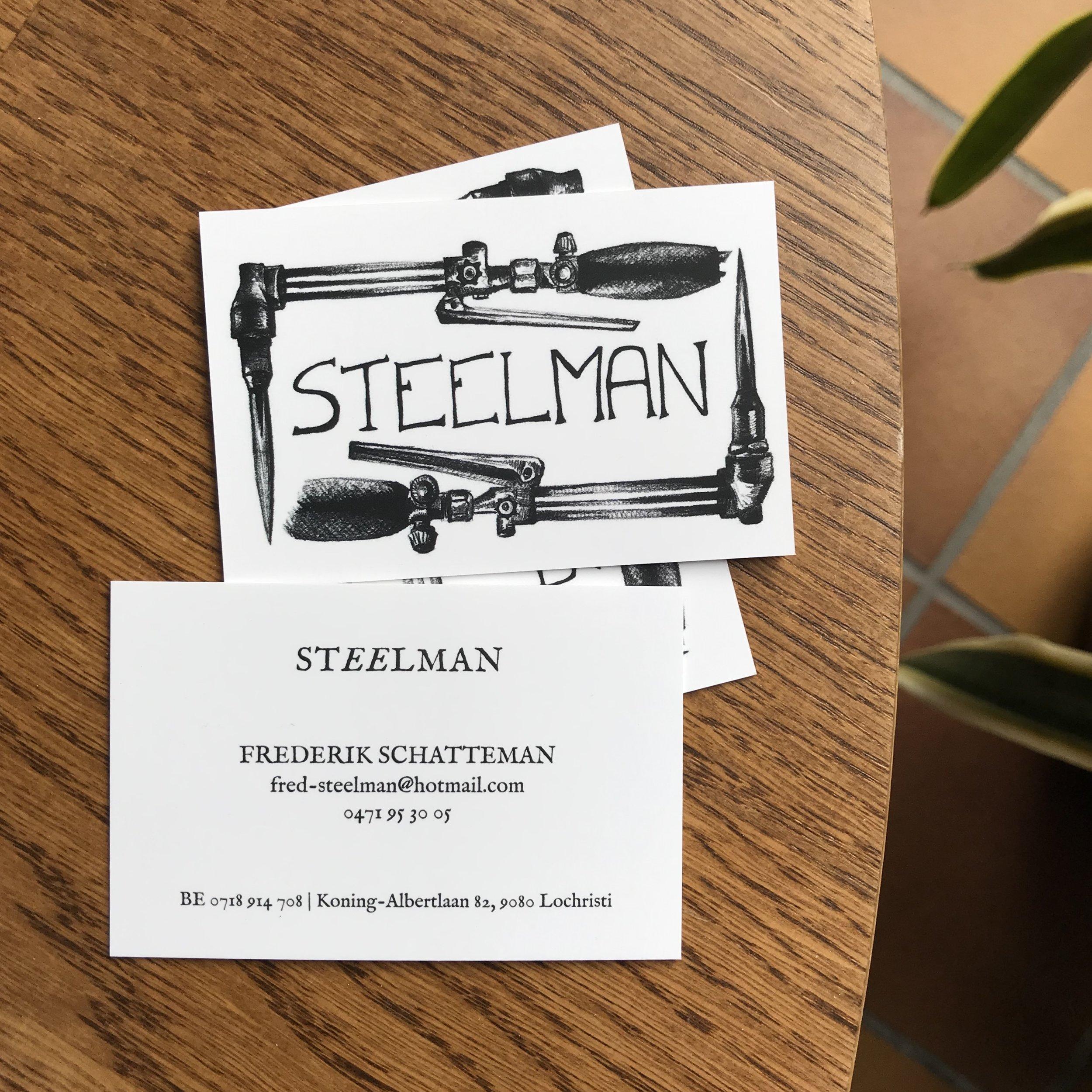 business cards voor steelman