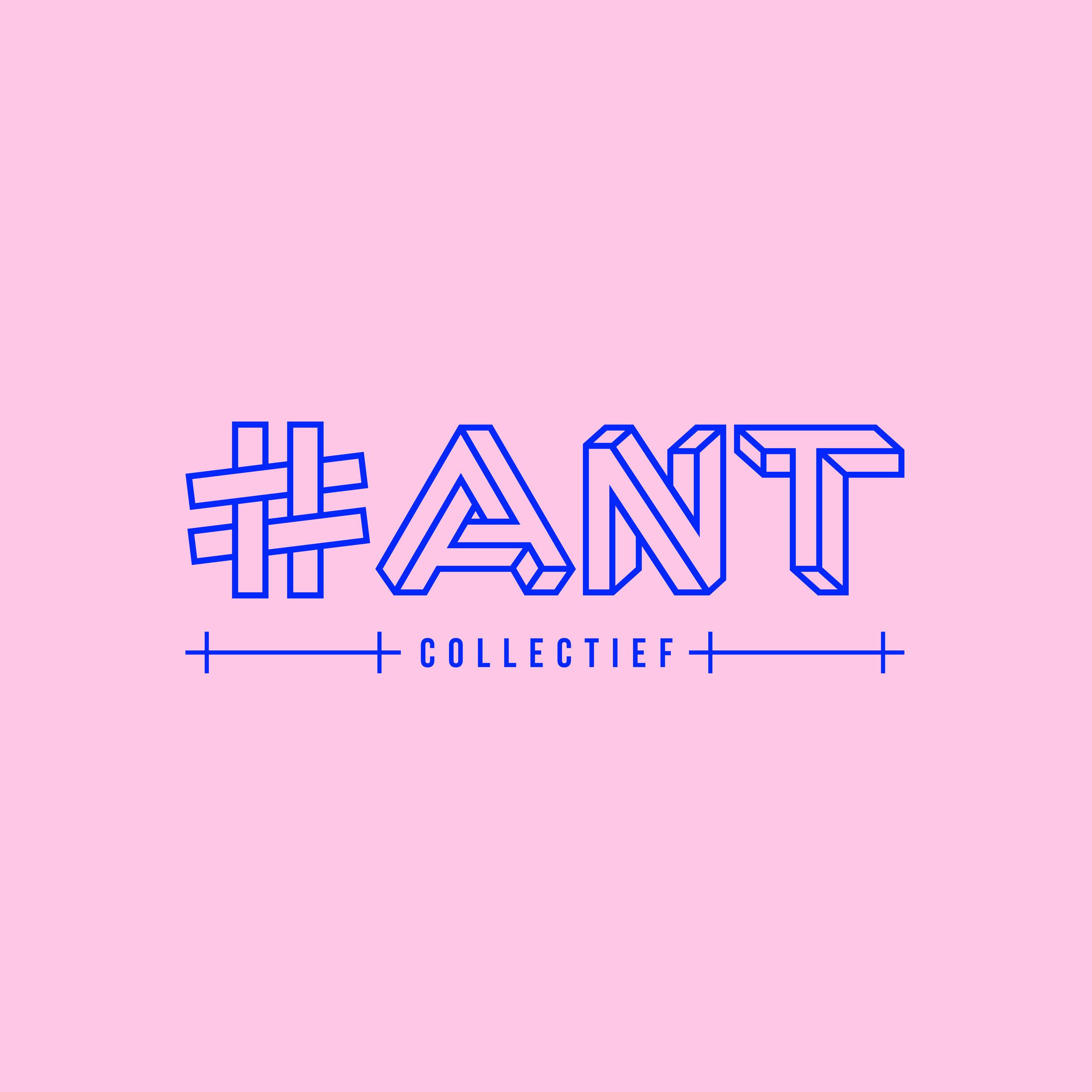 logo en huisstijl voor #ant