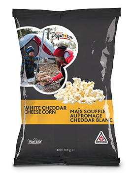 WHITE CHEDDAR CHEESE POPCORN