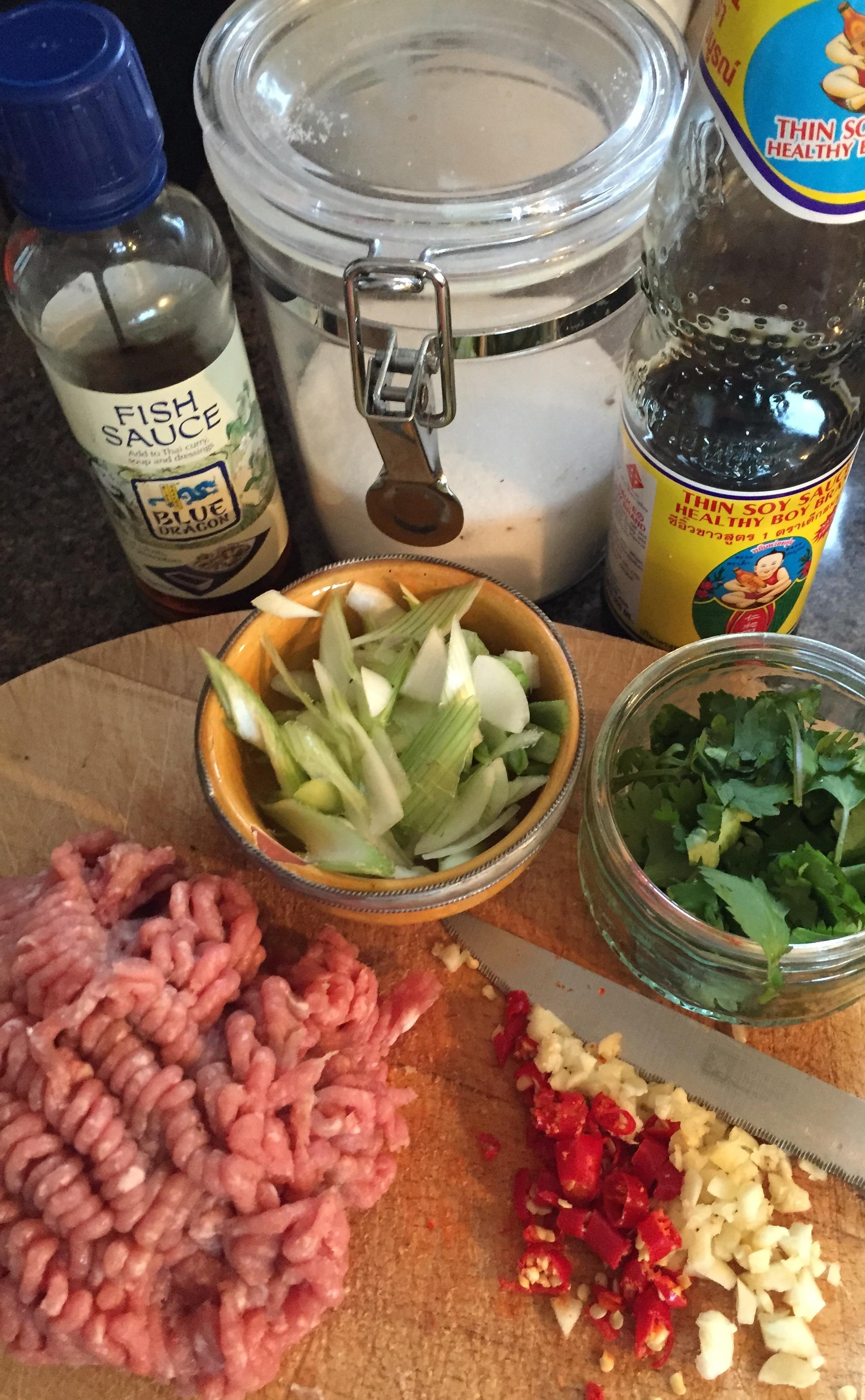 Rachel Walder The Tiniest Thai pork with chilli and garlice