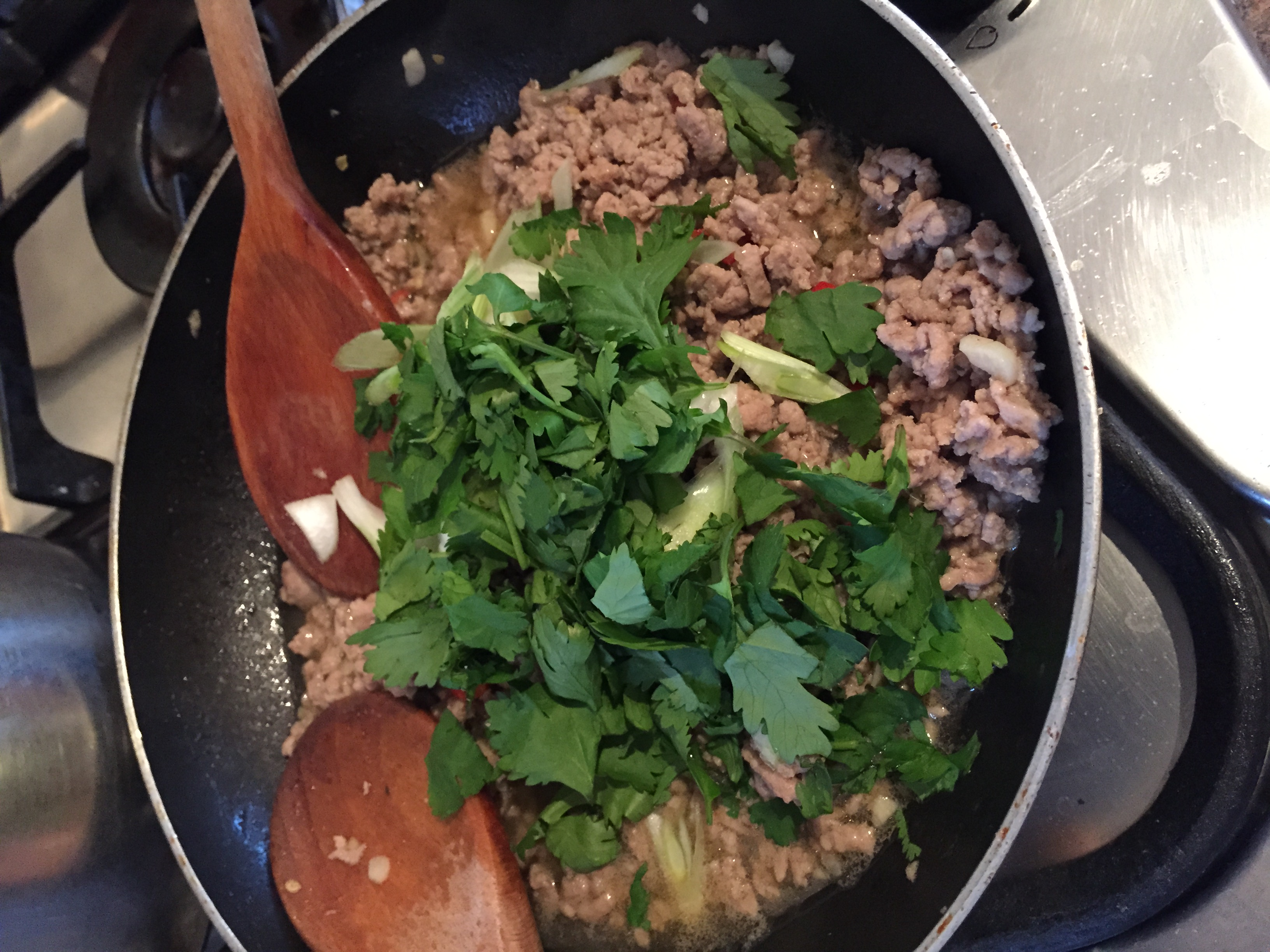 Rachel Walder The Tiniest Thai pork with chilli and garlic