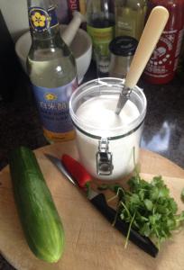 The Tiniest Thai Rachel Walder cucumber dipping sauce