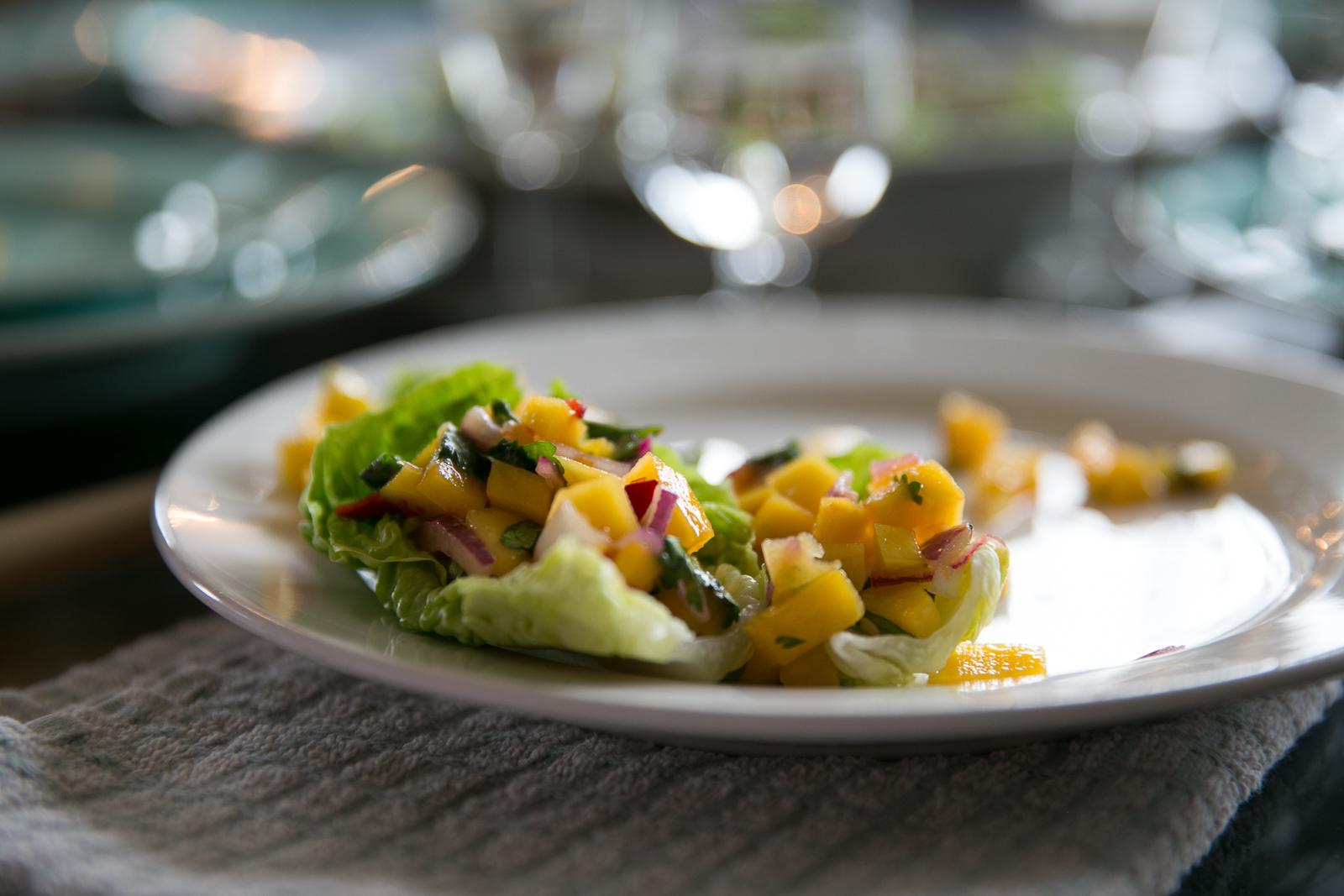The Tiniest Thai Rachel Walder mango chilli lime cups