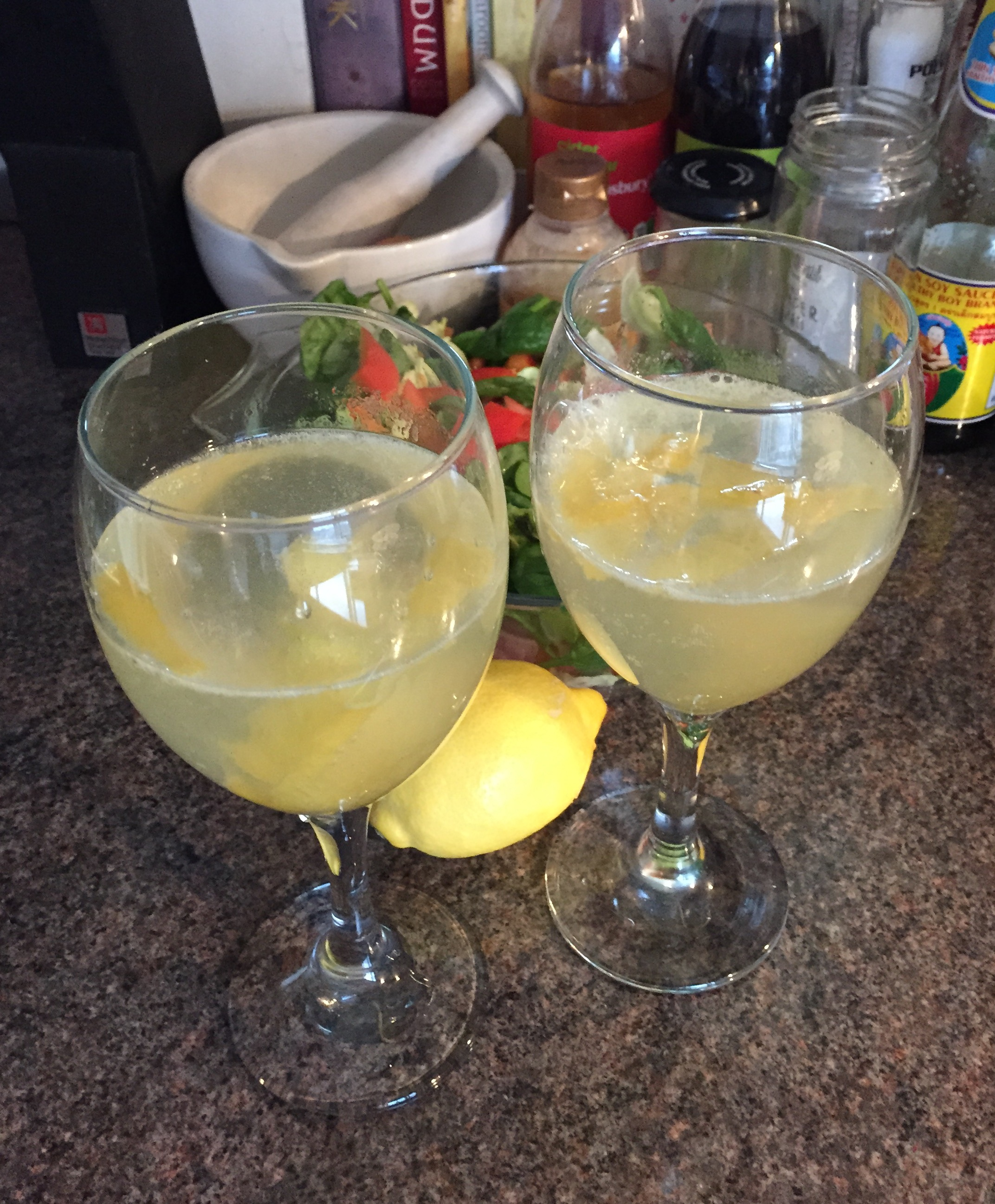 The Tiniest Thai Rachel Walder lemon prosecco punch