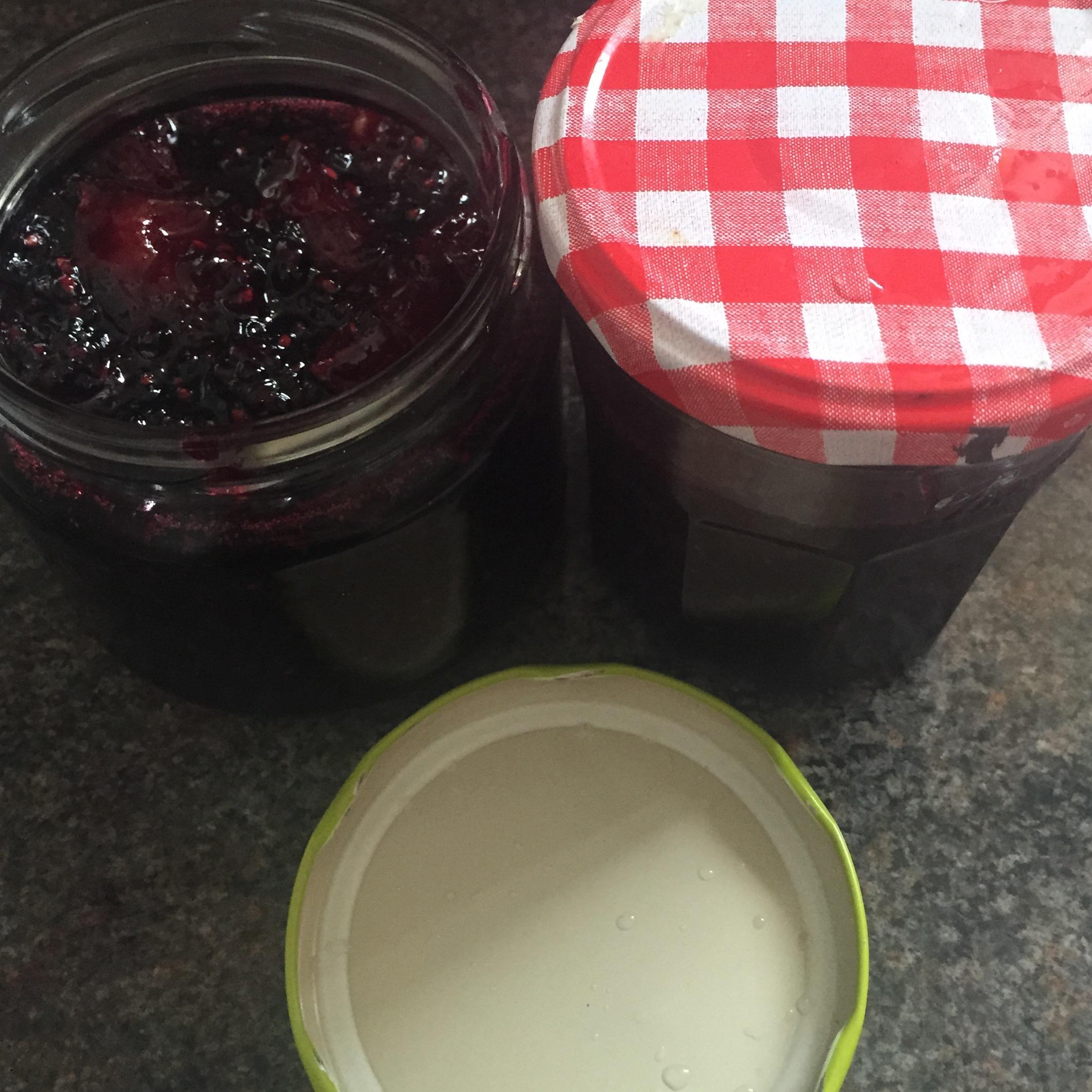 Rachel Walder simplest blackberry and apple jam