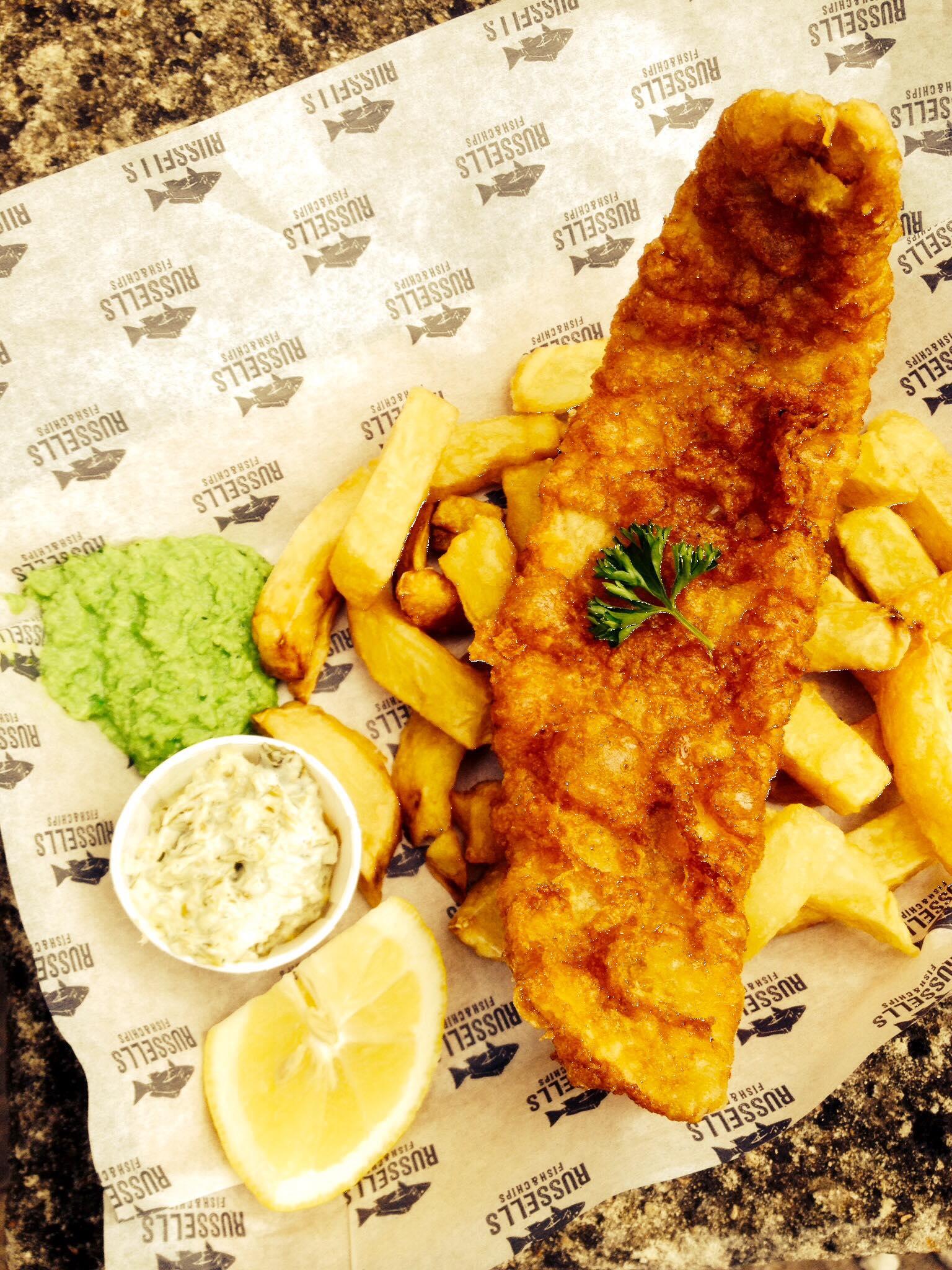 fish and chips Shaun Naen