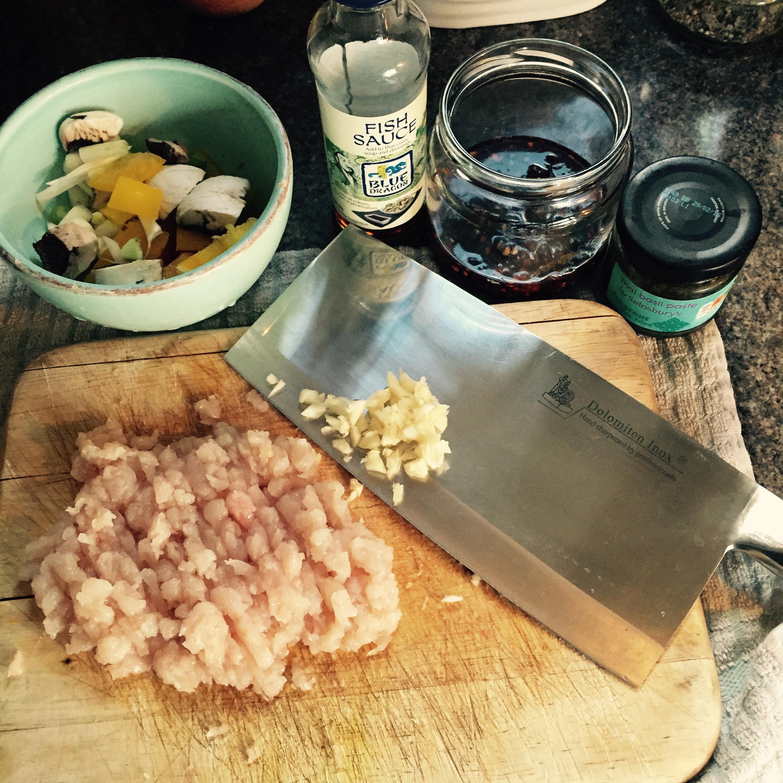 Nam prik pao stir fry chilli paste in oil Rachel Redlaw