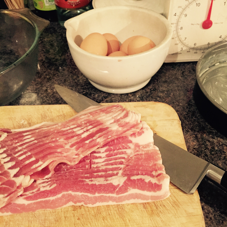 Rachel Redlaw Jassy's bacon and egg pie
