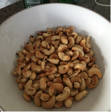 Raachel Redlaw spicy cashew nuts