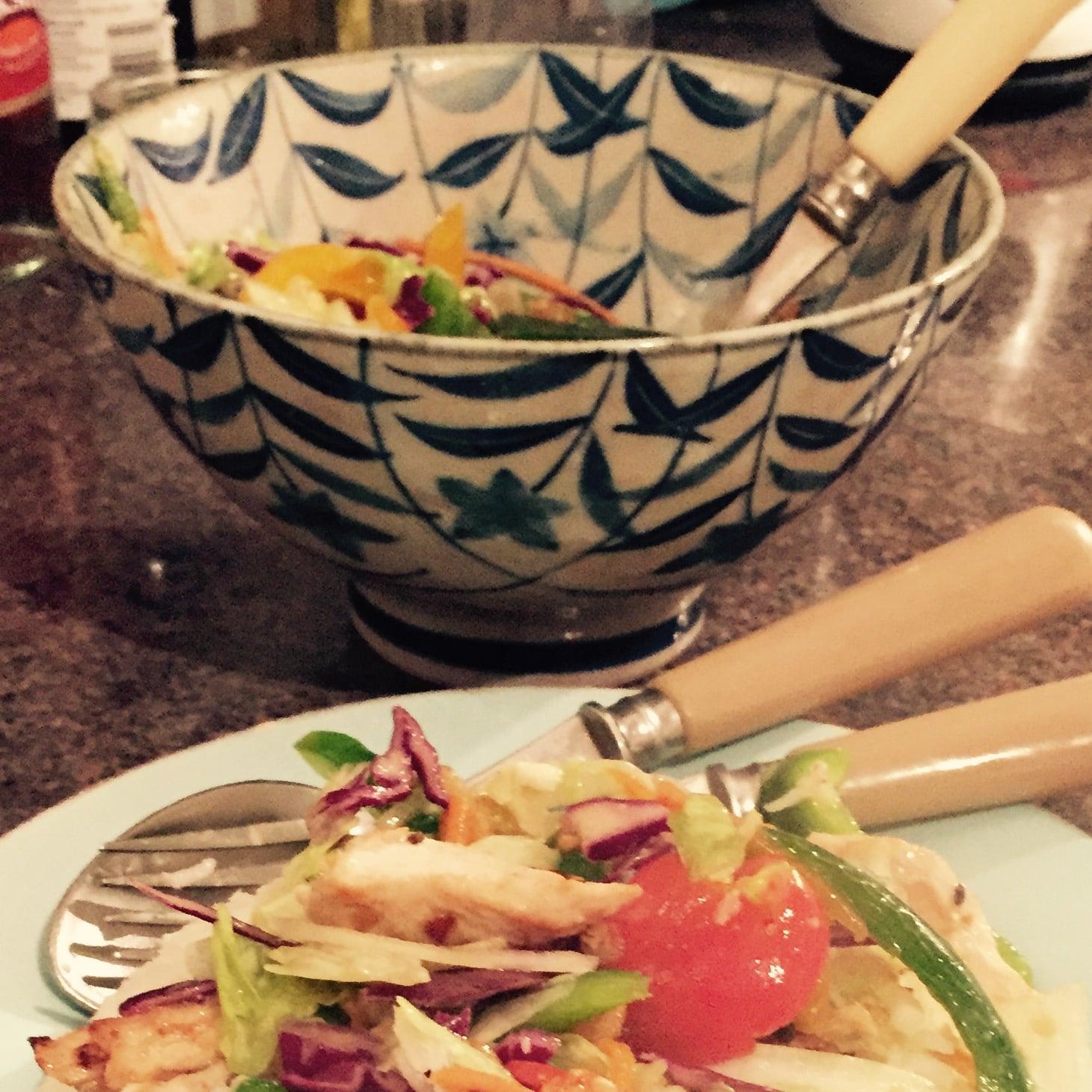 Rachel Redlaw January salad