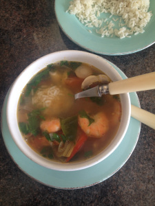Tom yum soup Rachel Redlaw The Tiniest Thai diet