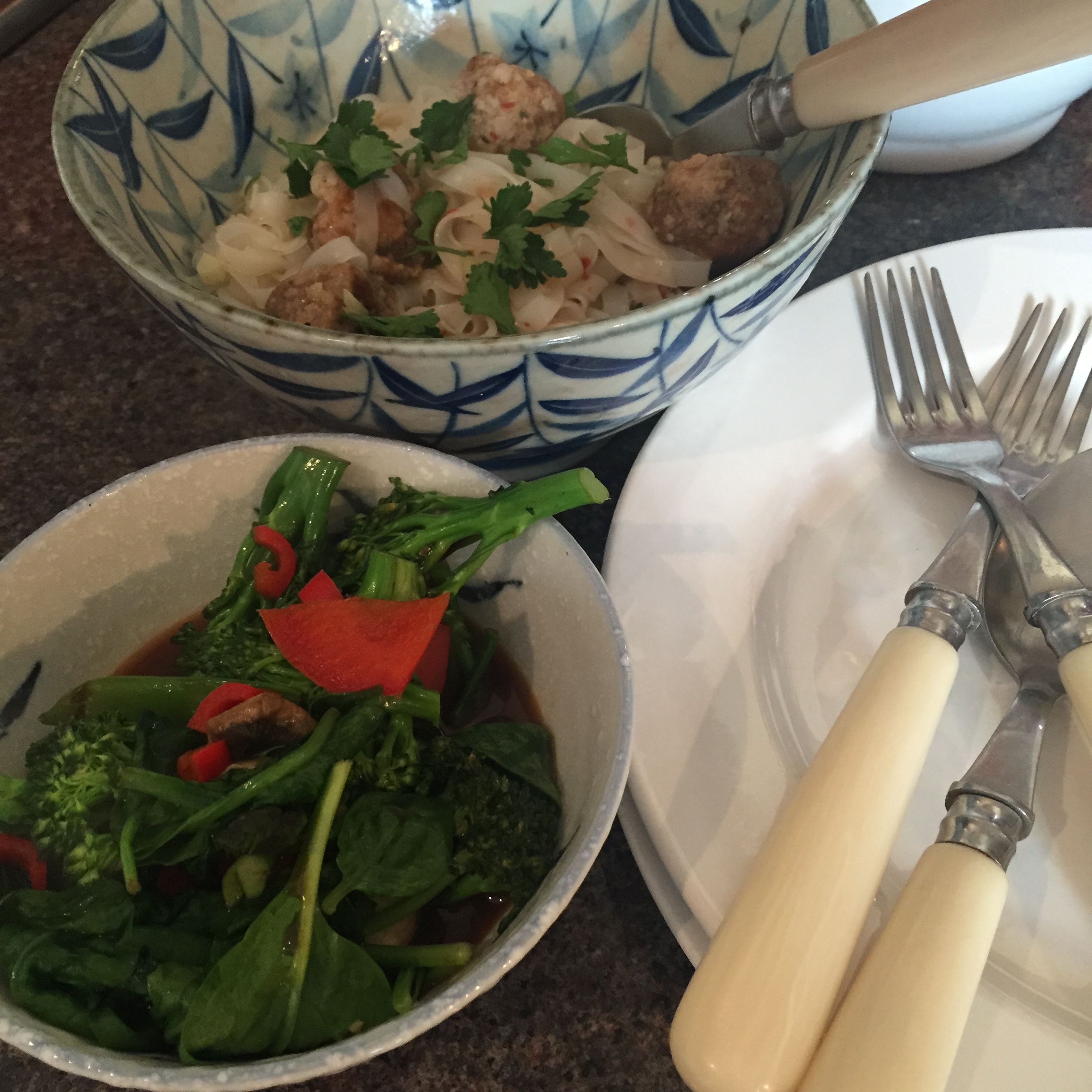 Rachel Redlaw The Tiniest Thai diet sausage meatballs