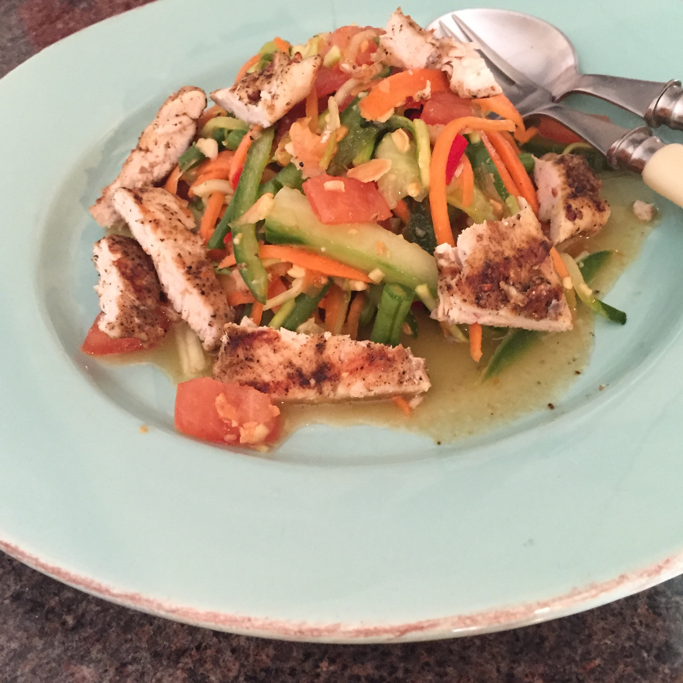 Rachel Redlaw The Tiniest Thai diet som tam Thai salad gai yang Thai roast chicken
