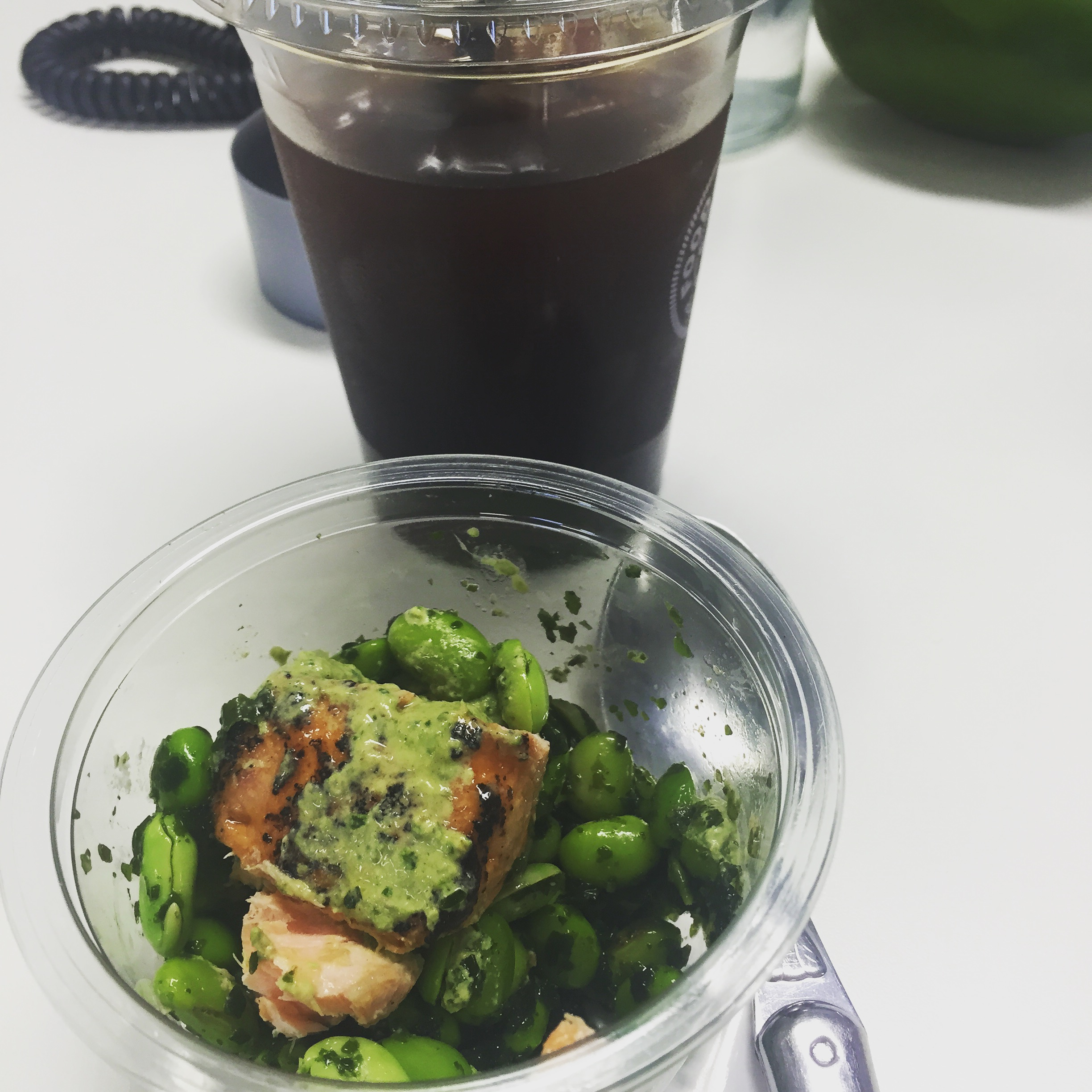 Rachel Redlaw The Tiniest Thai diet M&S protein pot