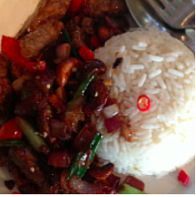 STir fried beef (or chicken) w/ cashews