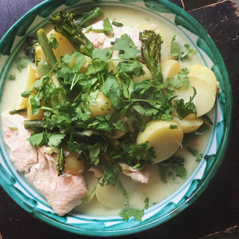 Rachel Redlaw Thai tray bake