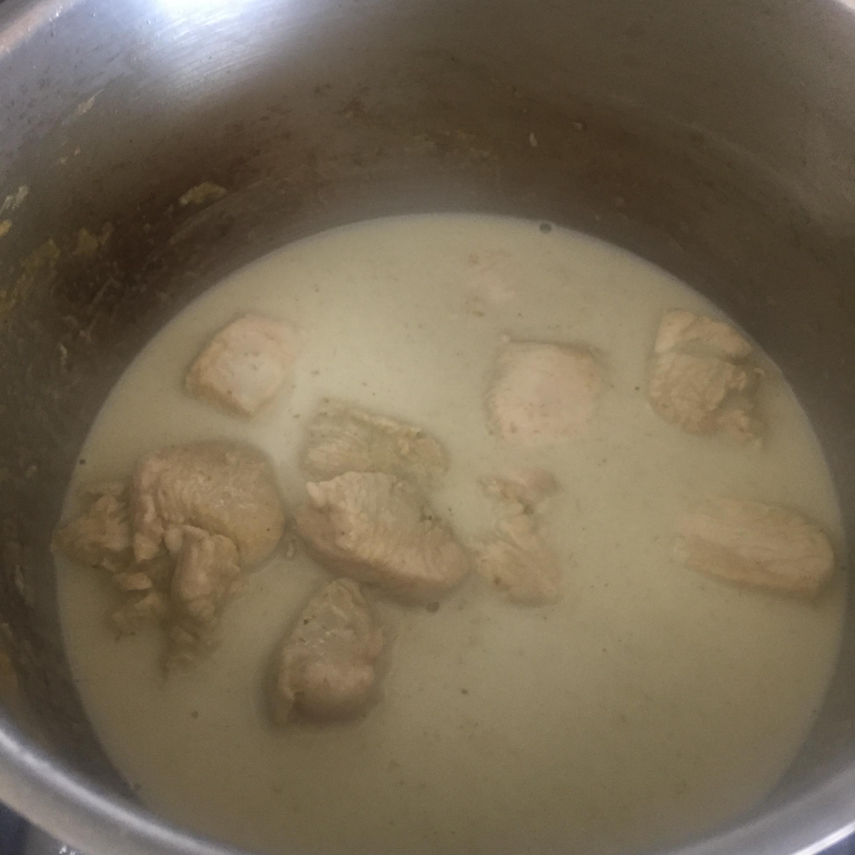 Rachel Redlaw Thai green chicken curry noodles