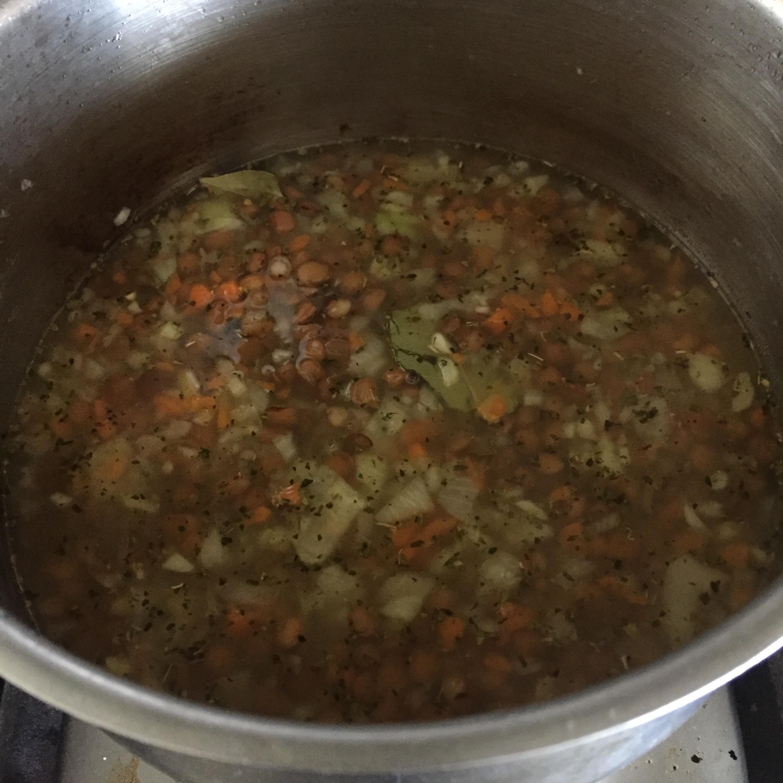 Rachel Redlaw lovely lentil soup
