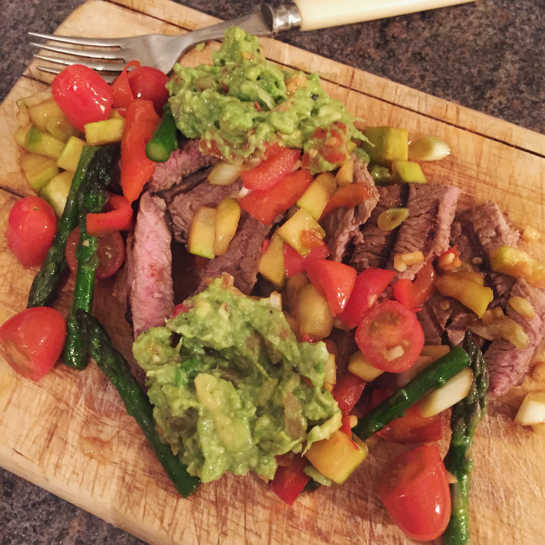 Ruth Ridgeway homemade chunky guacamole