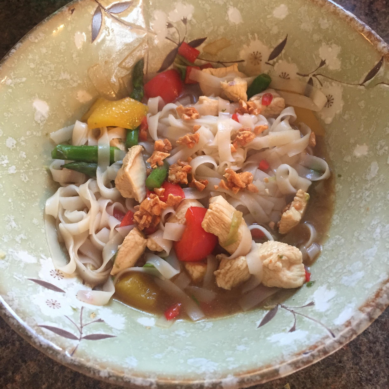Rachel Redlaw Thai fried crispy garlic