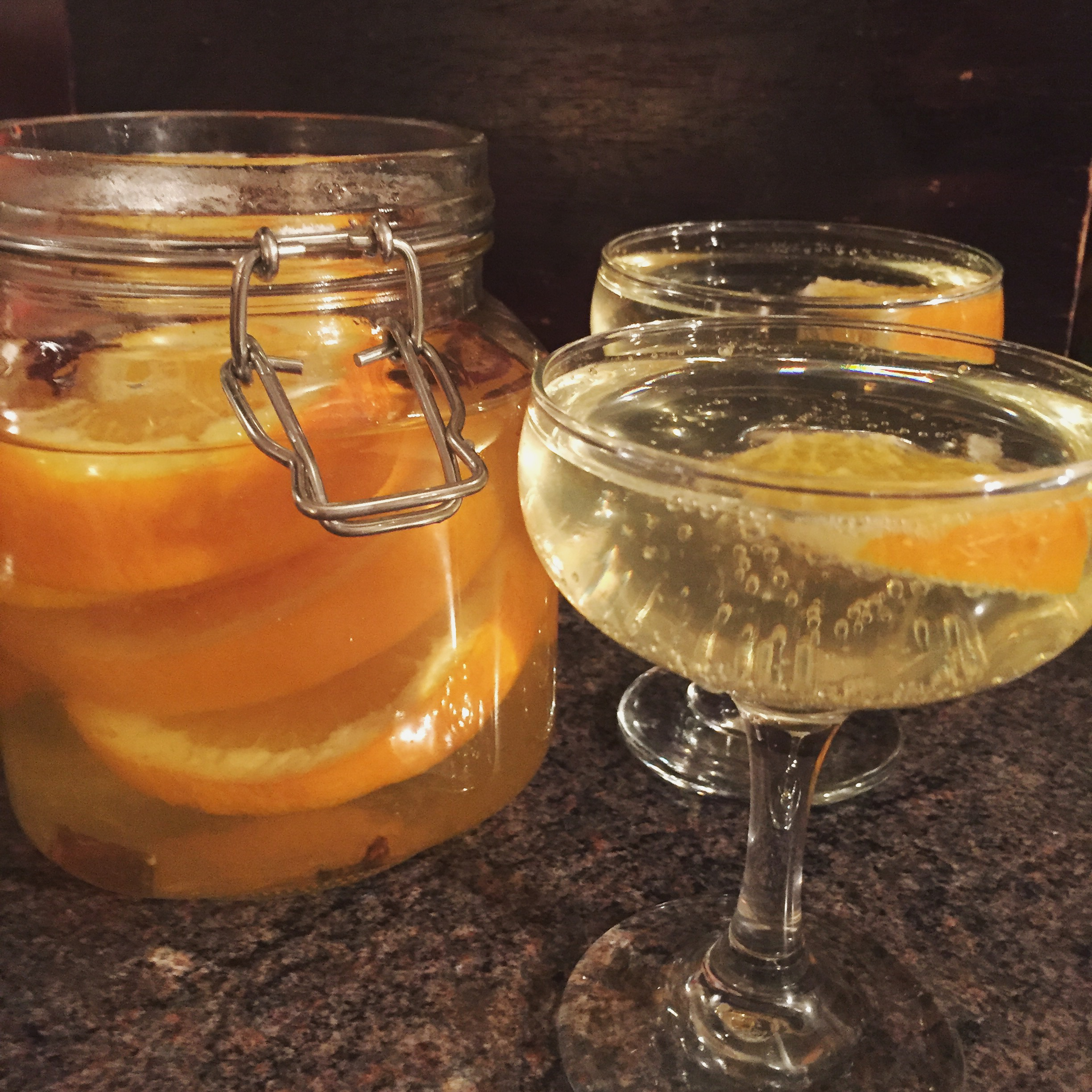 Rachel Redlaw orange spiced gin