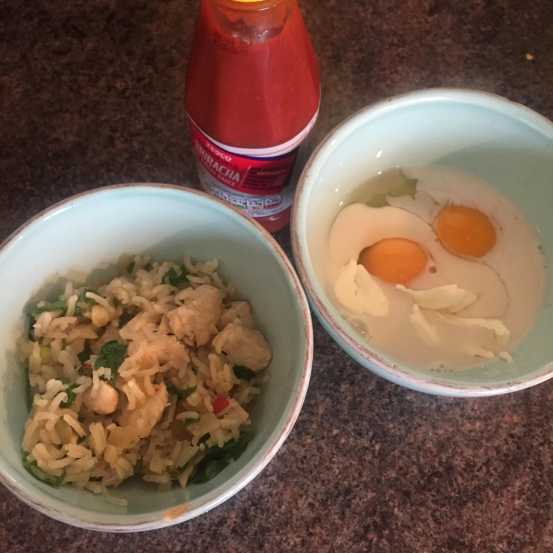Rachel Redlaw omurice Japanese fried rice omelette