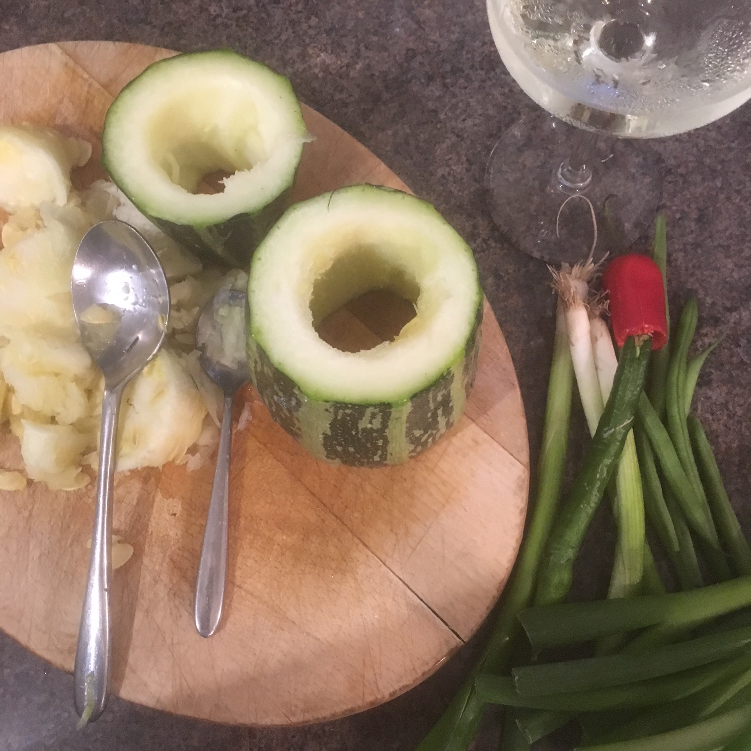 Rachel Redlaw Thai-style stuffed marrows