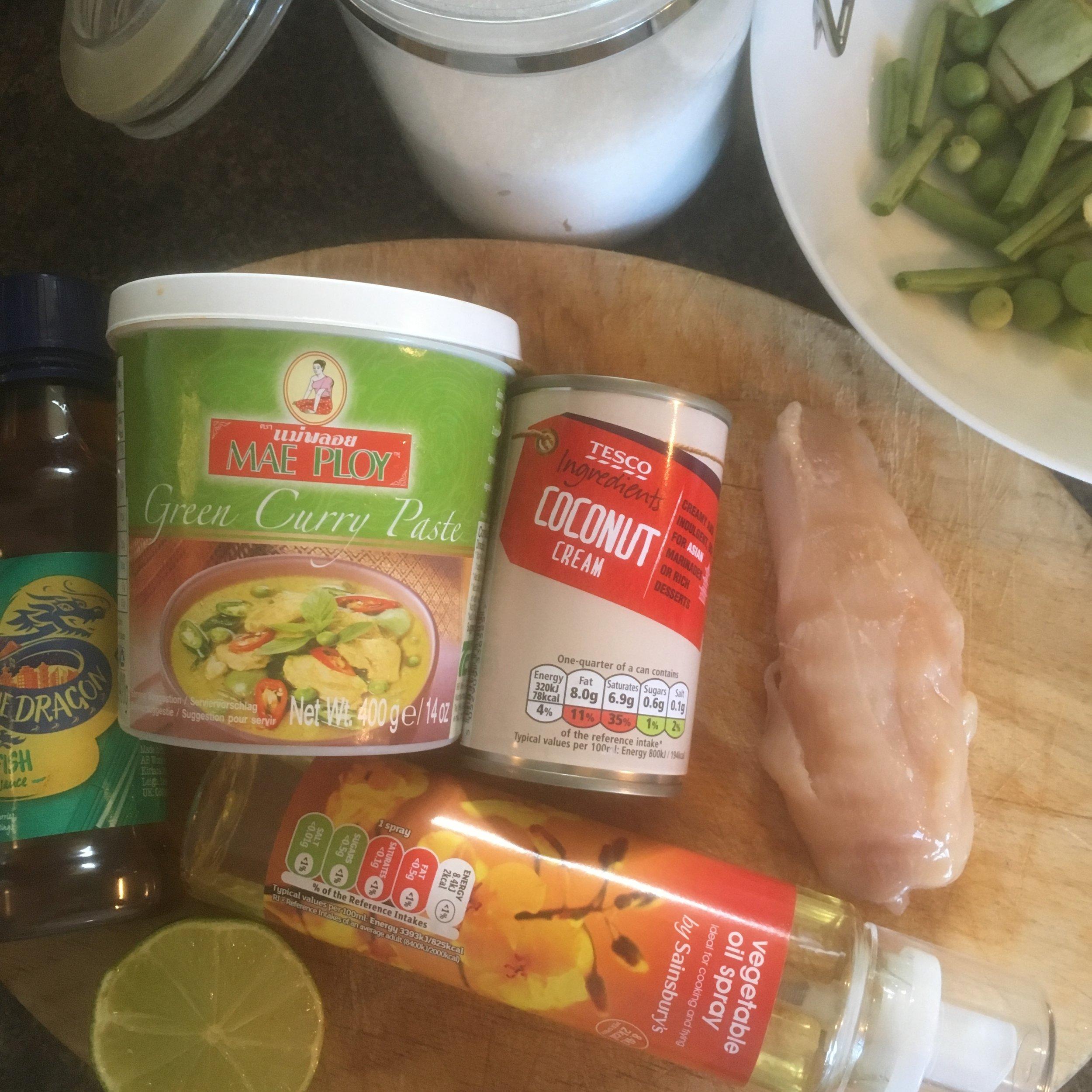 The Tiniest Thai Rachel Redlaw Thai Green Curry