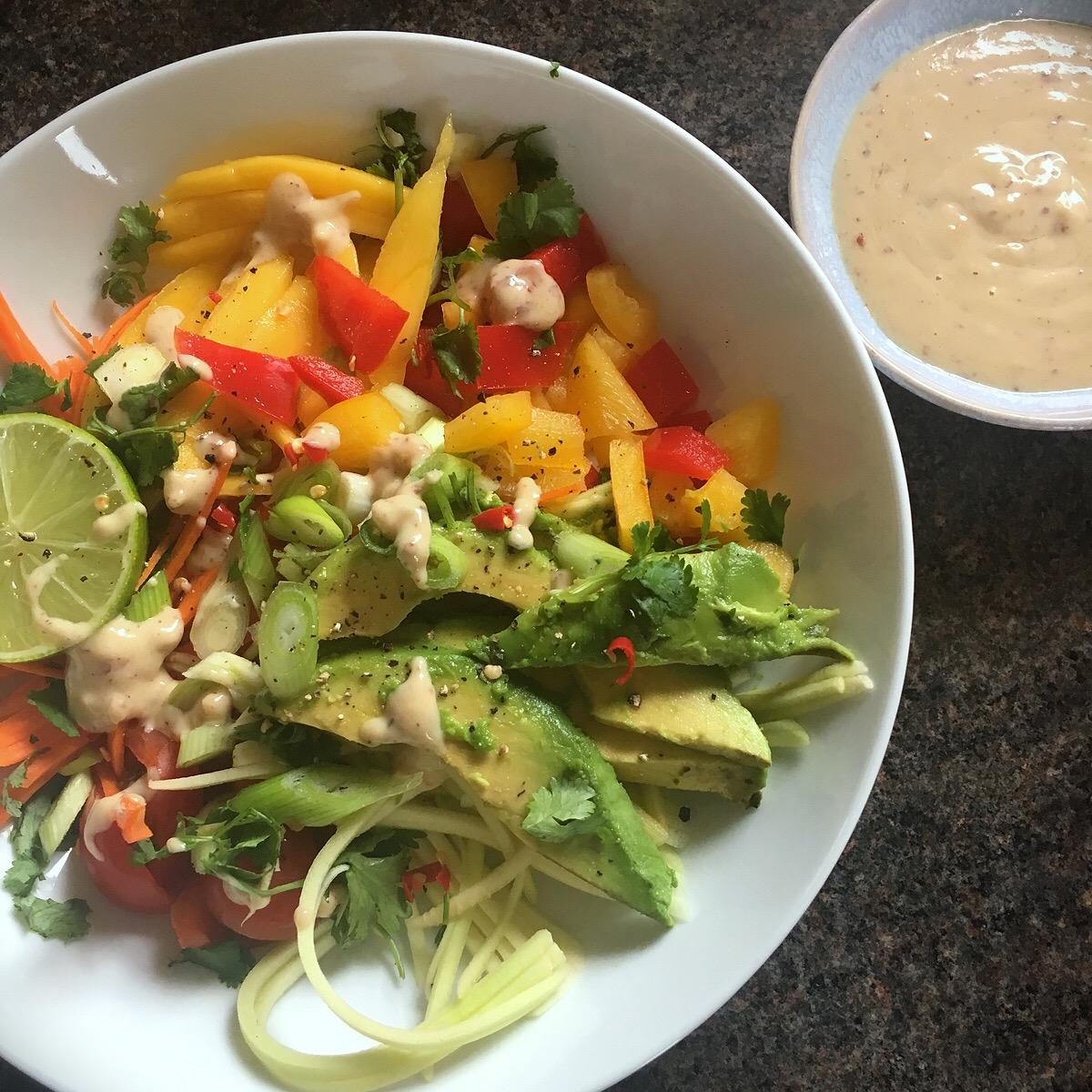 Rachel Redlaw avocado salad
