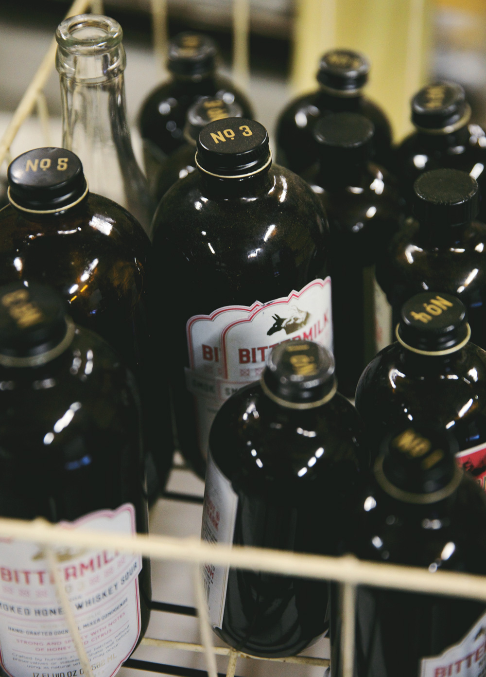 Bittermilk Bottles
