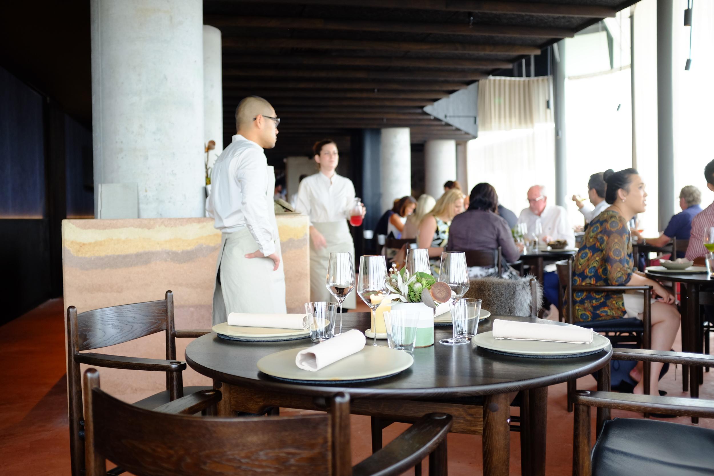 Noma Australia; the dining room.