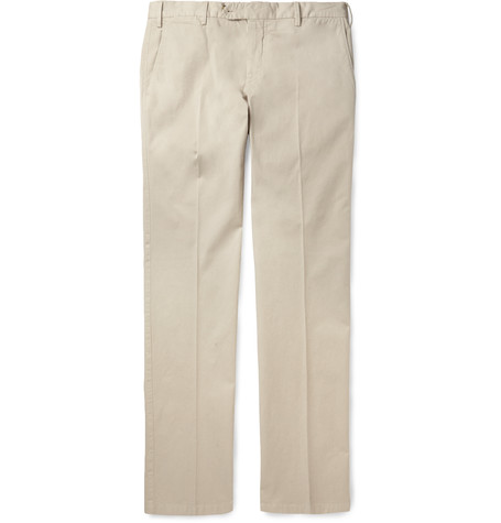Canali - Slim-Fit Stretch Cotton Chinos - $260