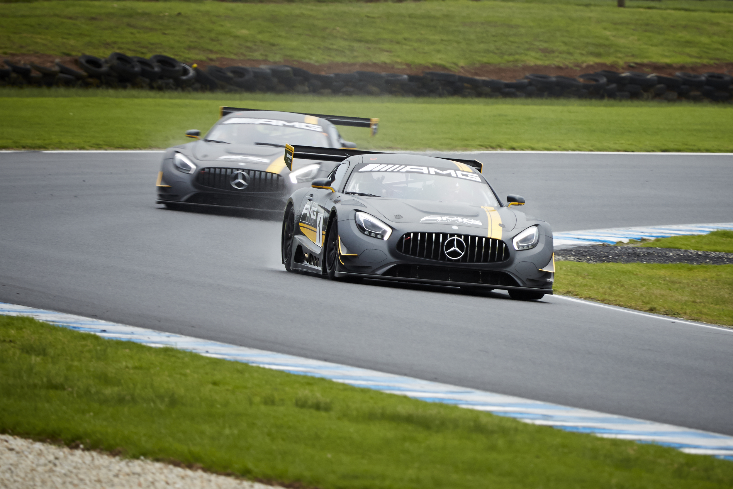 Mercedes Benz AMG GT3 Mr Gumbatron
