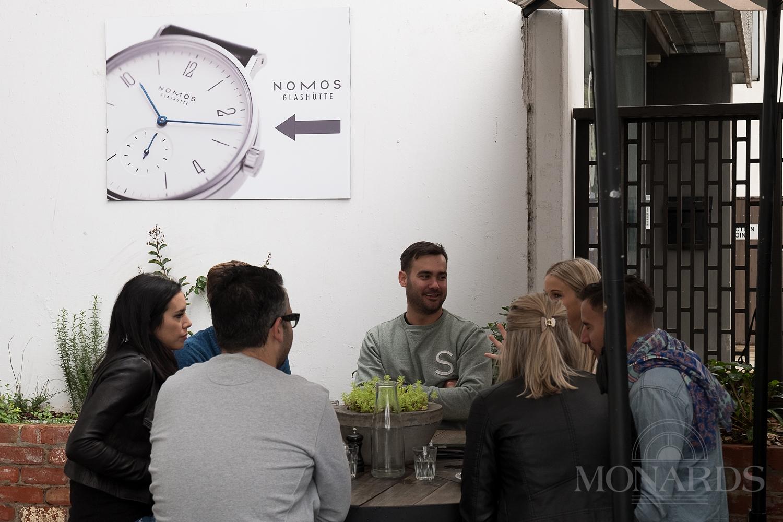 Nomos Glashutte Watches Monards Mr Gumbatron Kettle Black Cafe Melbourne