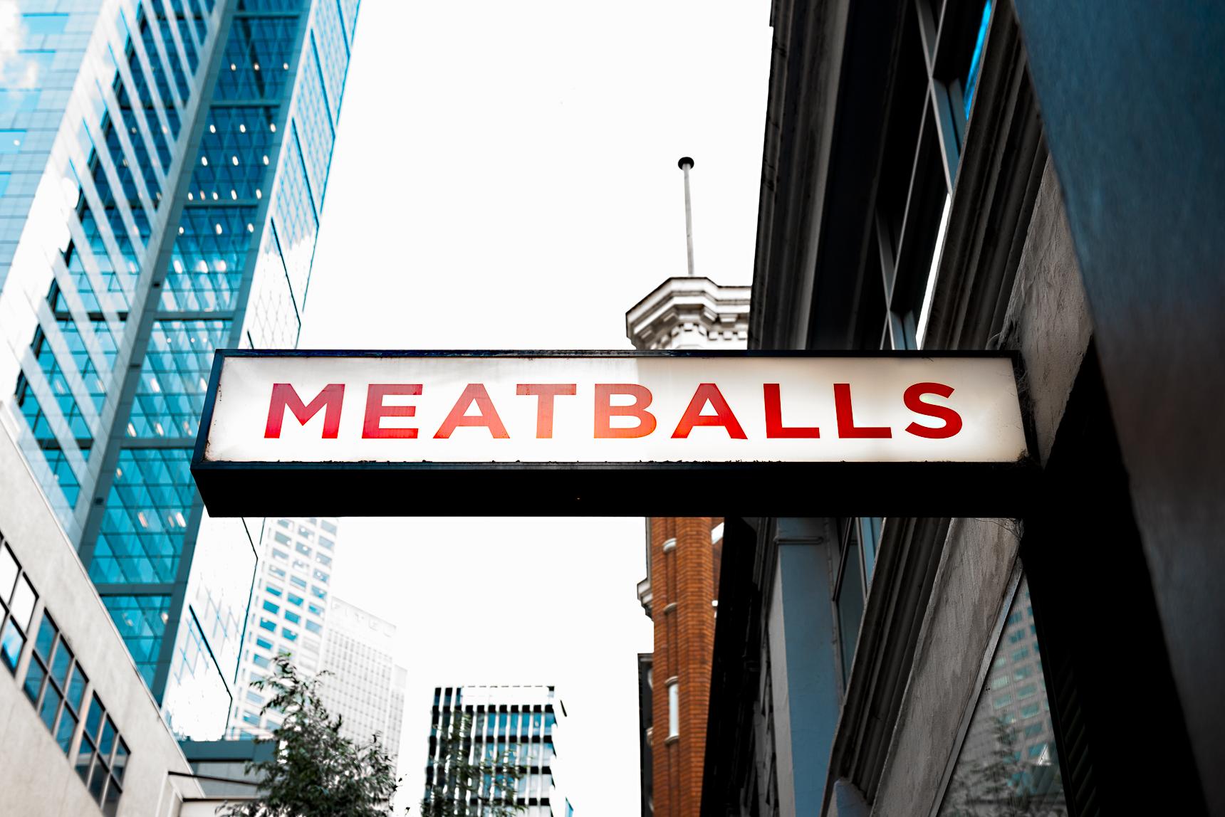 Meatball and wine bar Capi Water Mr Gumbatron Melbourne Flinders Lane Bar Restaurant