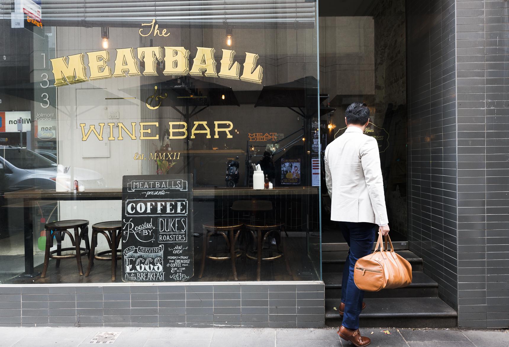 Meatball and wine bar Capi Mr Gumbatron