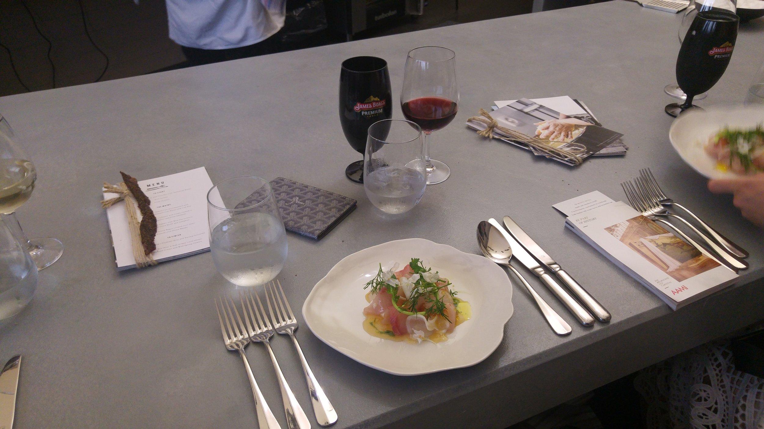 James Boag Beer Harnessed Melbourne Cup Mr Gumbatron Derby Day VRC Foodie Melbourne  Fine Dining Biota Dining Room