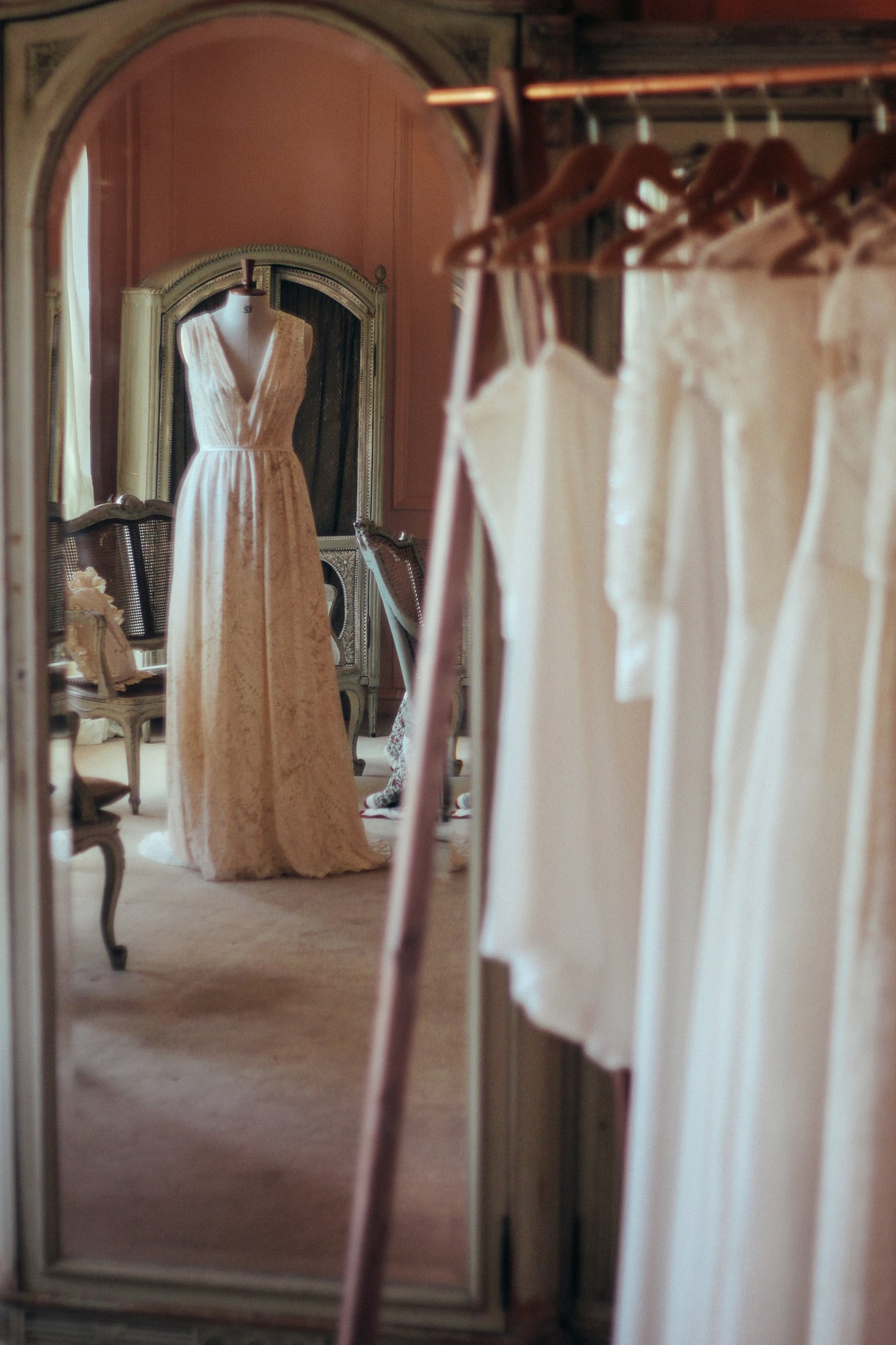 Lowena wedding dress at Trereife House