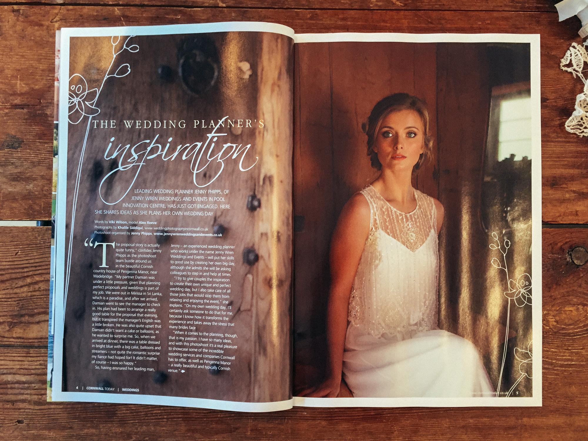 Wedding Dress Cornwall Today Magazine