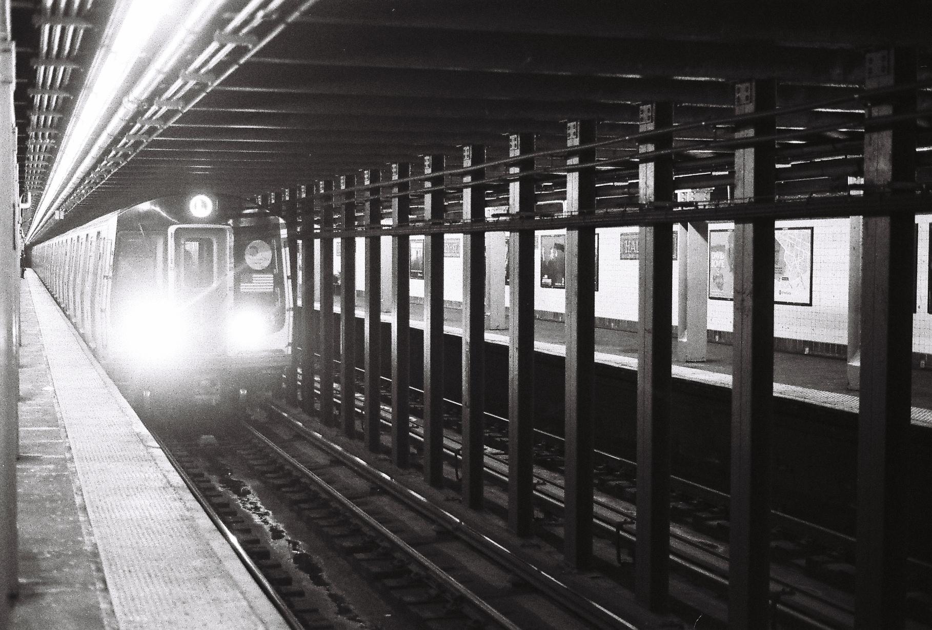 L train all day.