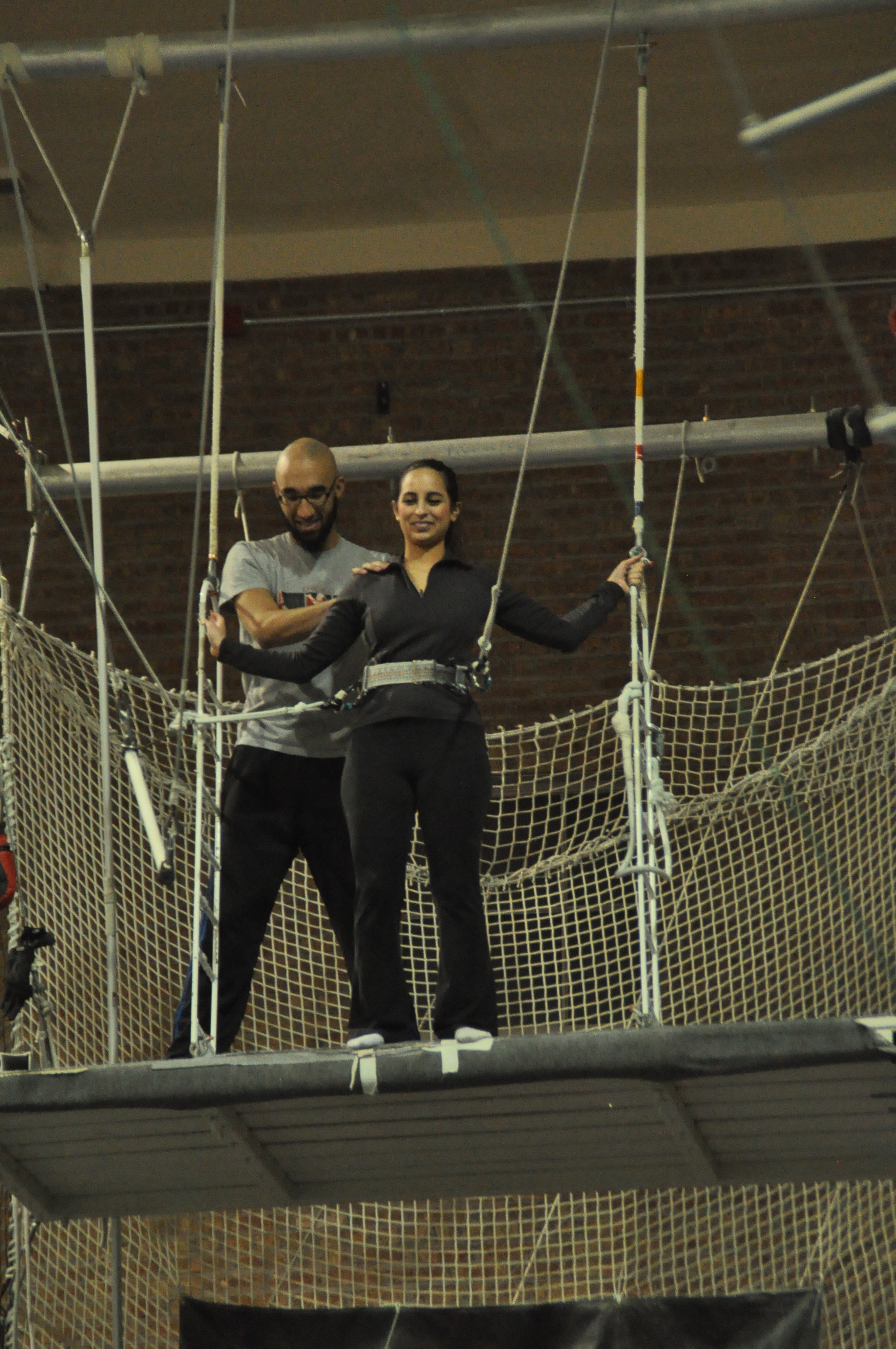 Beginning of Trapeze