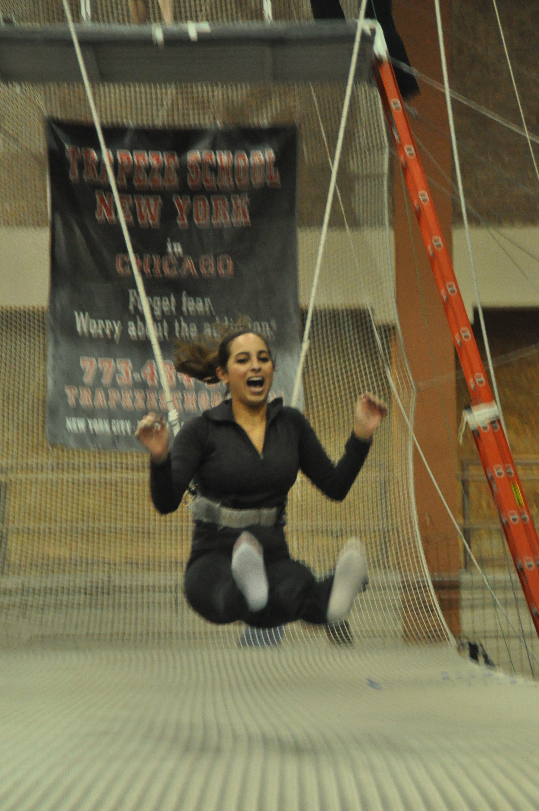 End of Trapeze School