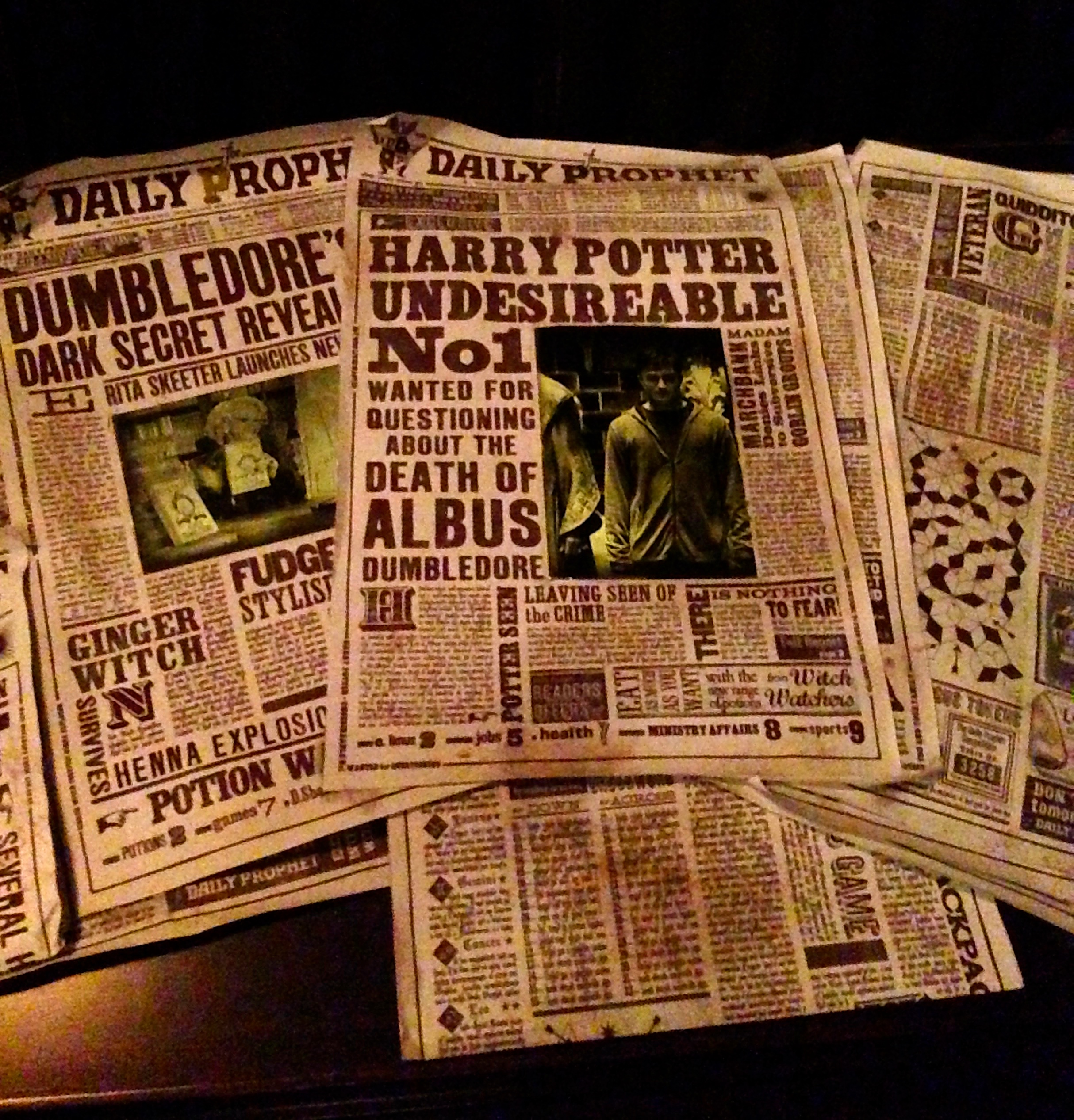 Harry Potter Newspapers
