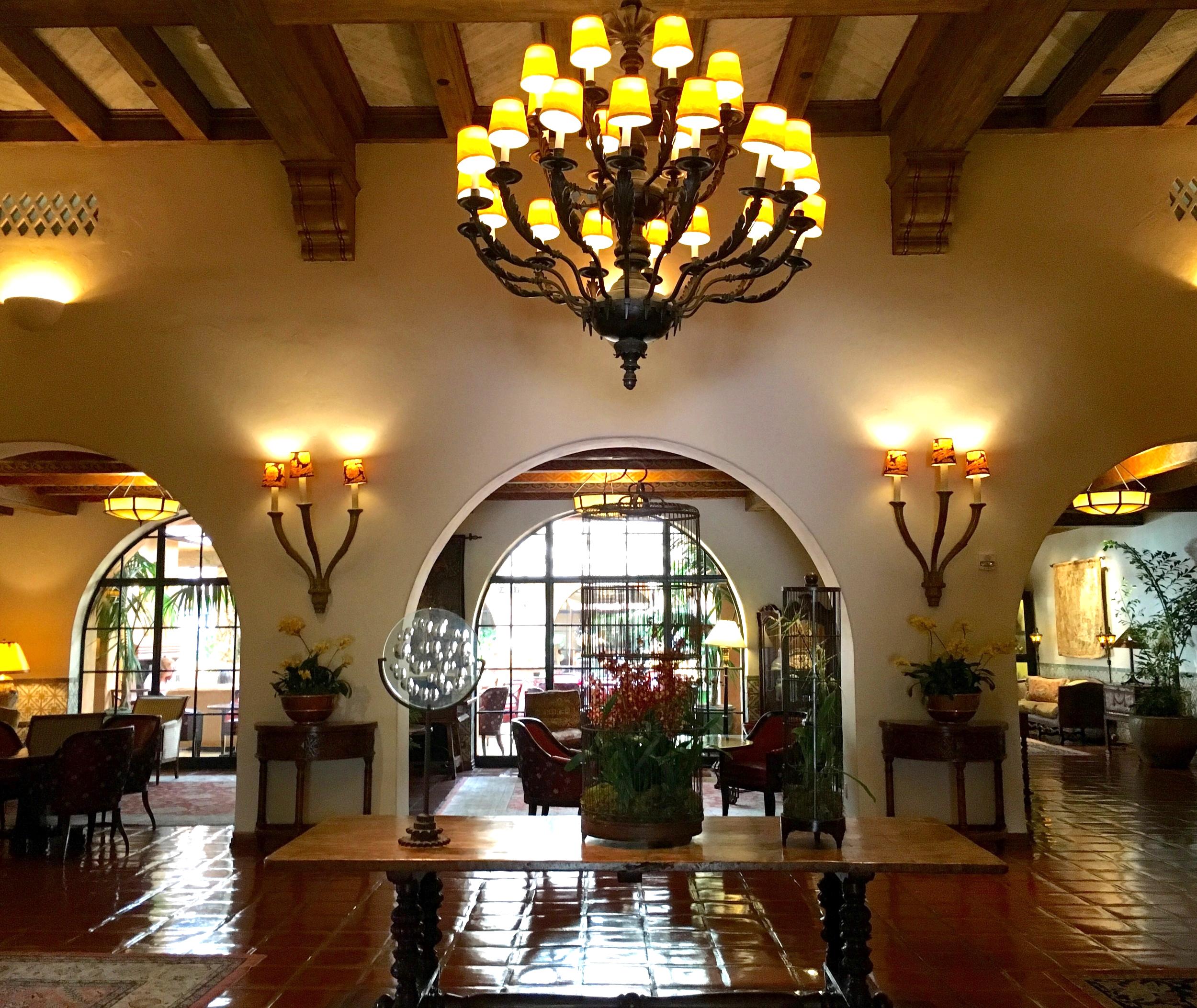 Four Seasons Resort The Biltmore Santa Barbara Lobby