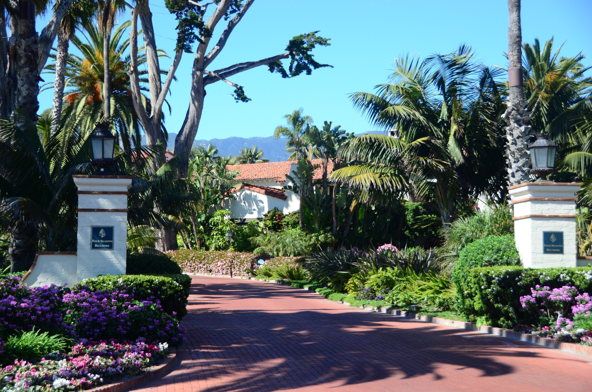 Four Seasons Resort The Biltmore Santa Barbara Entrance