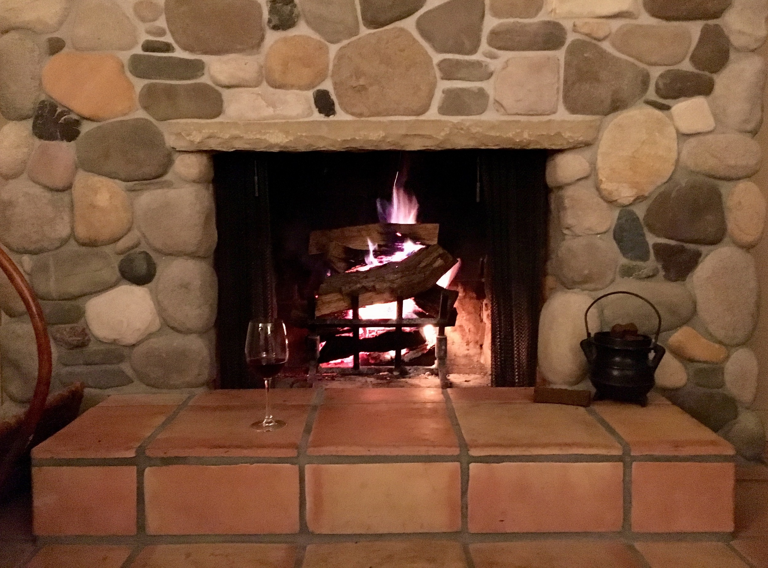 Alisal Guest Ranch and Resort Wood Burning Fireplace