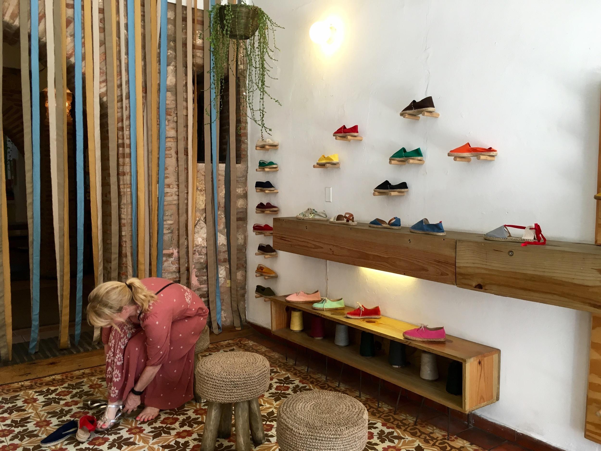 Shoe Shopping at La Alpargateria