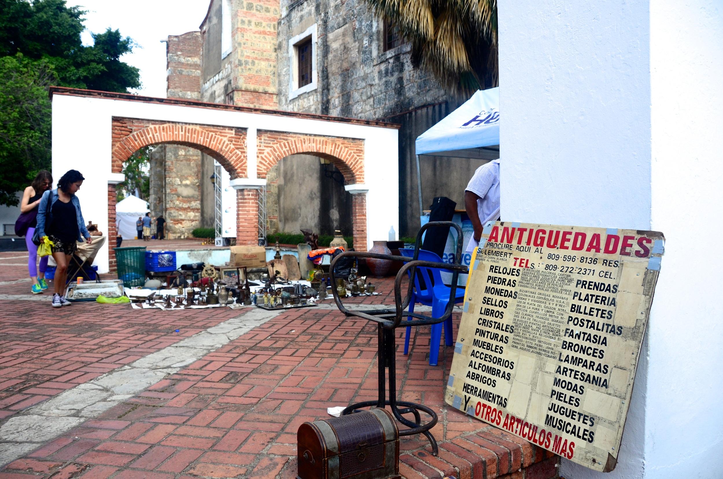 Antique Market Santo Domingo