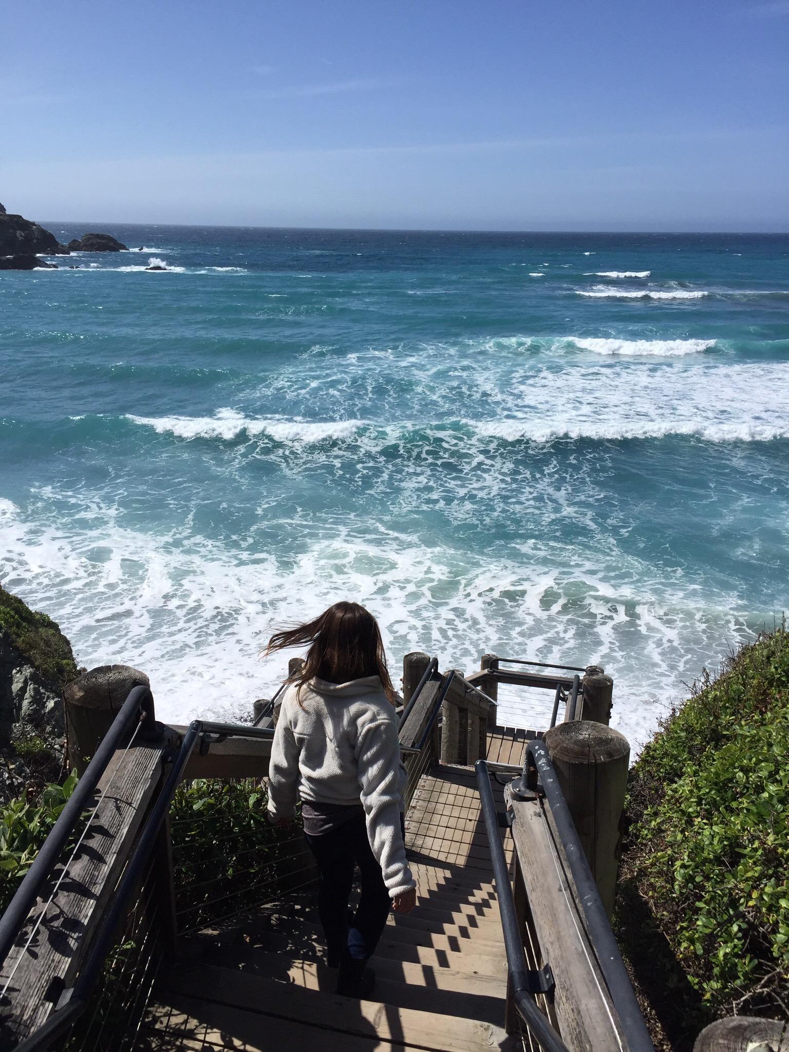 Stairs to Sand Dollar Beach