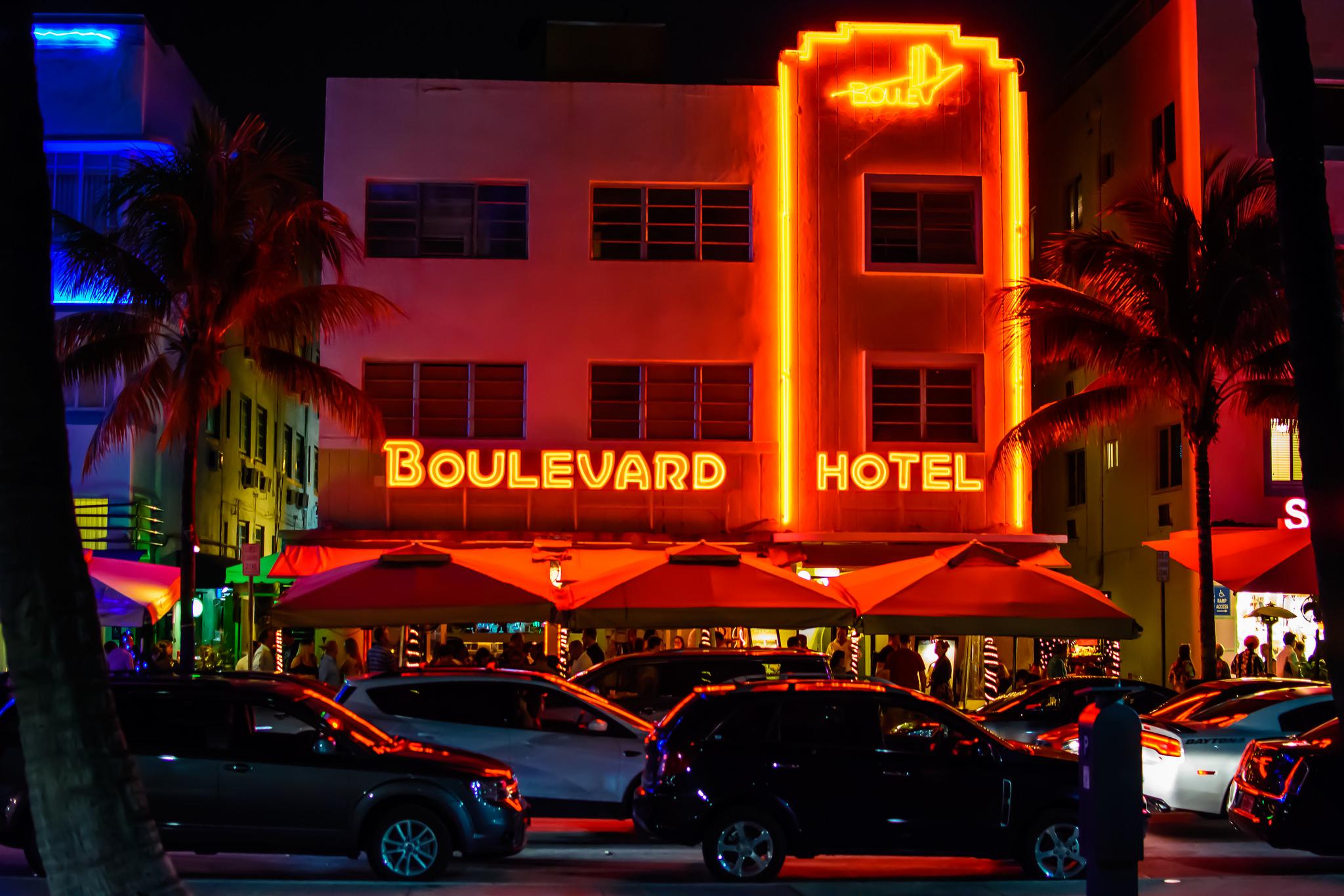South Beach by Night